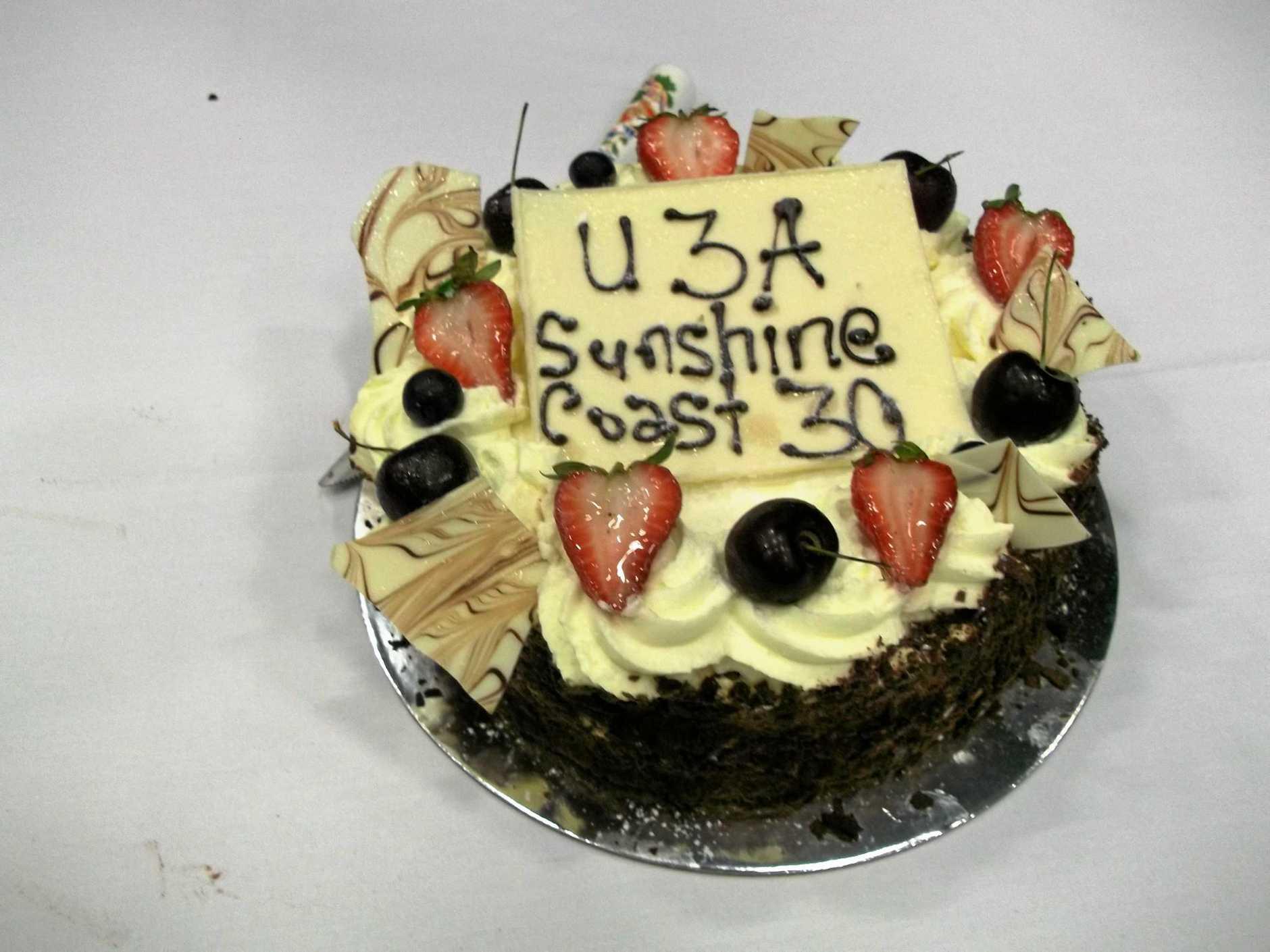 U3A Sunshine Coast's 30th anniversary.