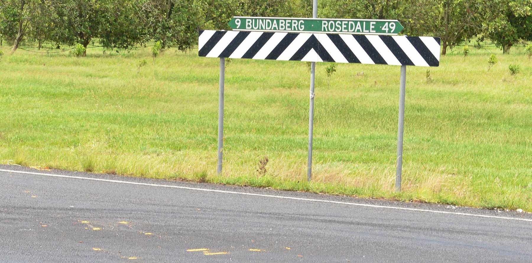 DANGER ZONE: Rosedale Road,.