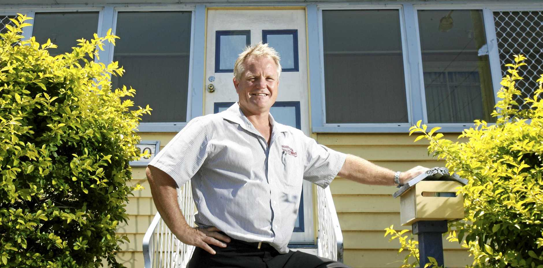 Darren Boettcher is the new REIQ chairman for the Ipswich region. Photo: Rob Williams / The Queensland Times