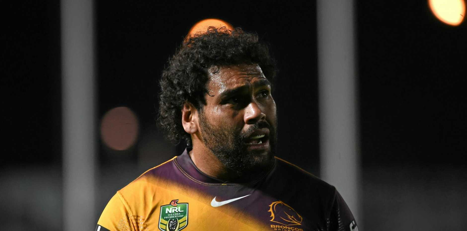 Brisbane Broncos forward Sam Thaiday.