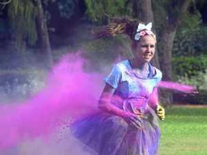 Fitzroy in Colour Charity Colour Run