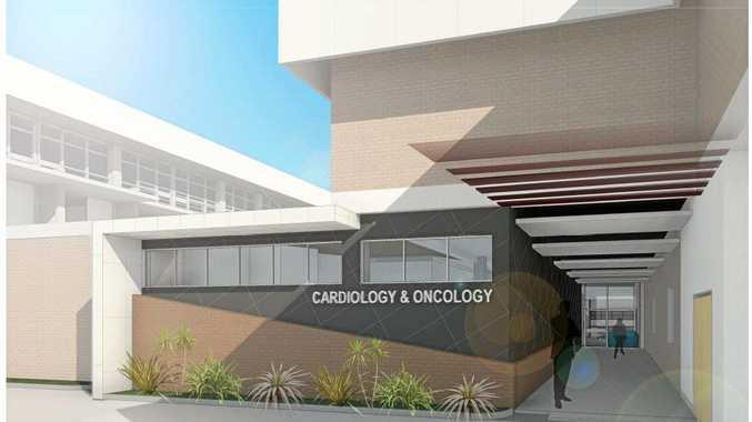 HEART FELT: Concept plans for the Rockhampton Mater Hospital expansion
