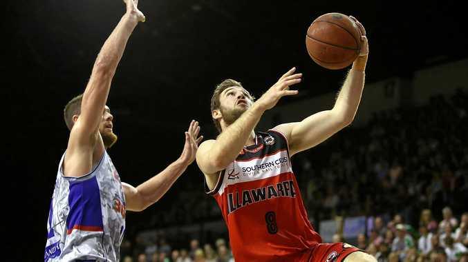 Mitch Norton of the Illawarra Hawks.
