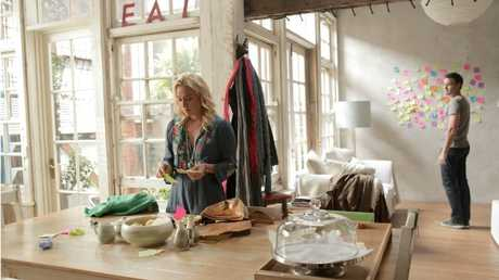 Nina Proudman's kitchen in the Channel 10 show Offspring.