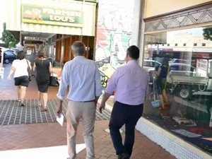Deputy Premier street walk