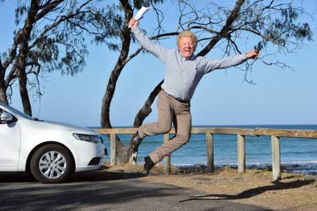 YOU BEAUTY: Developer Stan La Vin is ecstatic that Bundaberg Regional Council is approving the Elliott Heads Estate project. Photo: Max Fleet / NewsMail