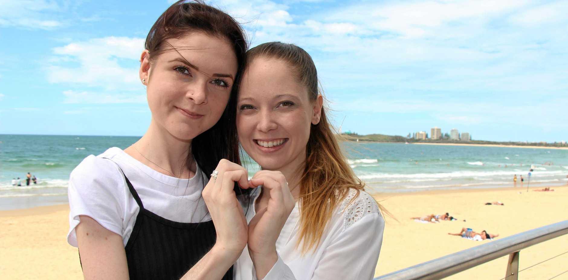 UNBREAKABLE: Bree Morrison and  Tanya Kretschmann have developed an unbreakable bond.