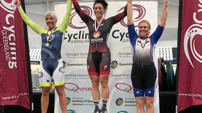 WINNER: Grafton track cyclist Laurelea Moss has more golds to add to her cabinet after tasting success five times at the QLD Masters Championships.