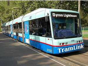 NON-STOP: Plans for the Byron Light Rail could include the tram travelling into the Tweed Shire.