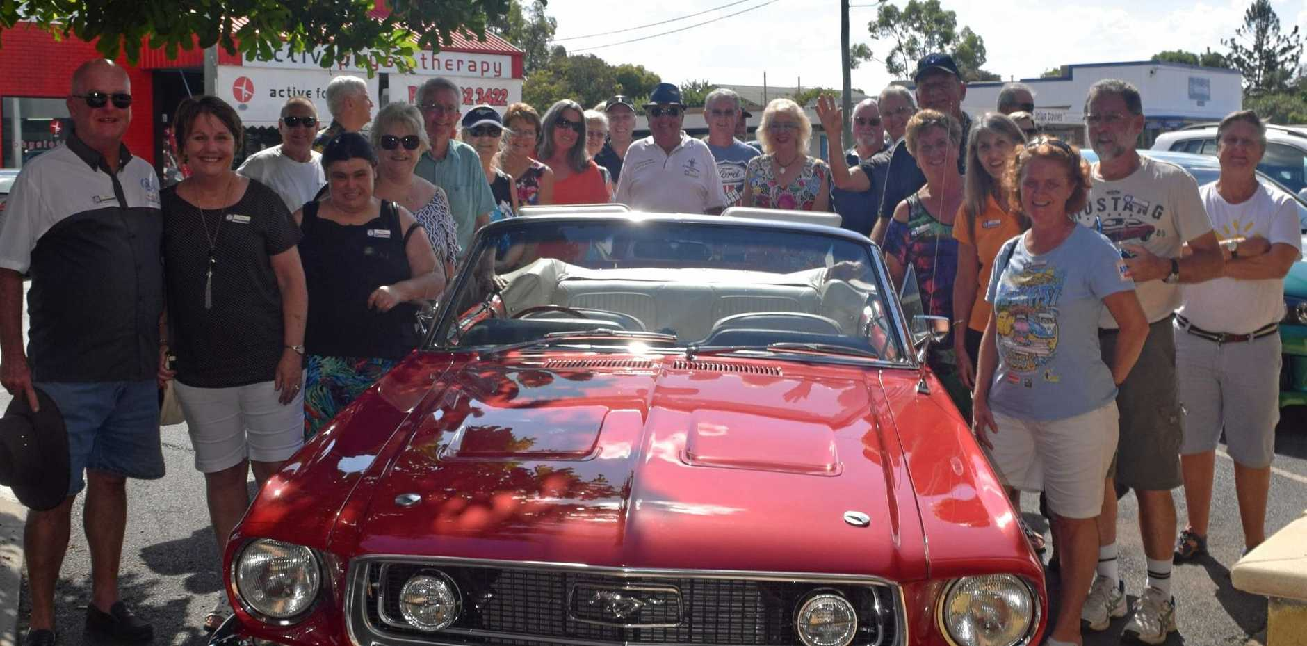 HOT WHEELS: The Mustang Owners' Club Queensland at the Dalby Coffee Club.
