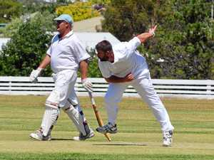 Crease heats up in cricket comp