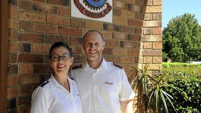 NEW TO TOWN: Salvation Army ministers Kylie and Martin Herring are looking forward to meeting the community.