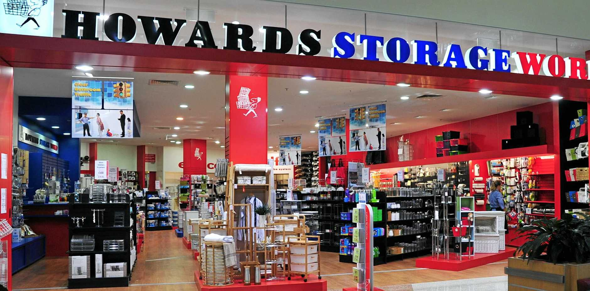 Howards Storage World once had this shop at Noosa Civic. Its Maroochydore store is open, and located in the same complex as Bunnings on Dalton Dr.