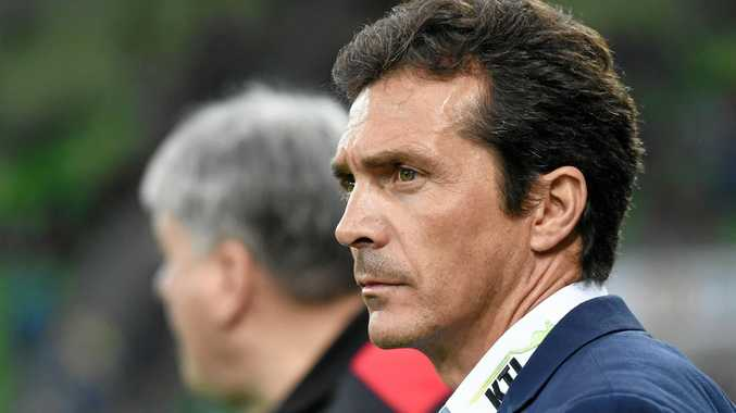 Adelaide United coach Guillermo Amor.