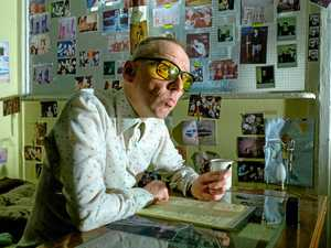 Ewen Bremner in a scene from the movie T2: Trainspotting.
