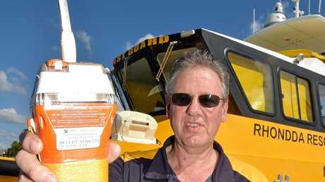 Ian Hunt from the Mooloolaba Coastguard.