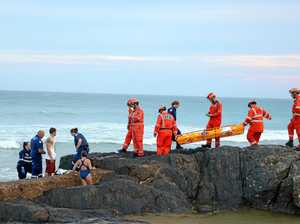 Emergency crews rescue woman near Sawtell rock pool