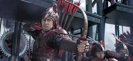 Kenny Lin in a scene from the movie The Great Wall.