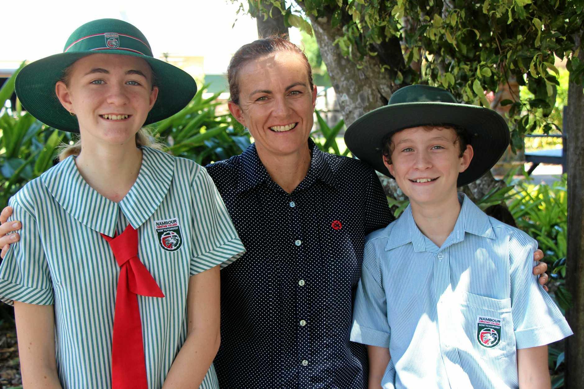 Buderim mum Susan Greenham is proud of her two children.