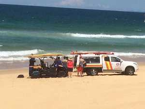 Police have confirmed that they have located the body of the missing elderly man at a Coast beach.