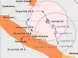TC Alfred forms in Gulf of Carpentaria