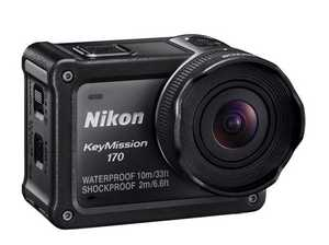 Nikon KeyMission 170 - the easiest of the range to use.