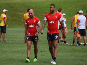 Sydney Swans training in Coffs