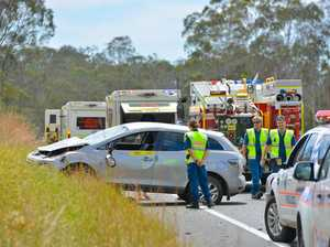 BREAKING: Paramedics rush to rollover, Bruce Hwy shut down