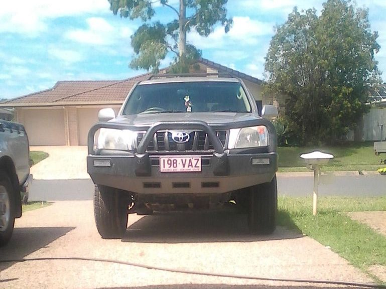A Beerwah family's Toyota Prado was stolen from their Coochin Hills Drive home.
