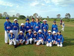 Junior cricketers go head to head