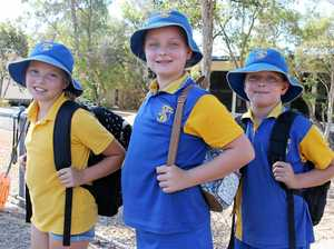Torquay State School students Crystal Prior, Zoey and Jack Murray said school had become a lot more fun ever since their classrooms had air-conditioning installed. However, there are still many more classrooms at the school that don't have air-conditioning and the P&C Association is fundraising.