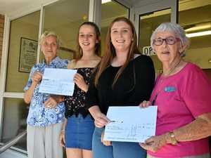 Warwick QCWA gifts a grand help for uni students