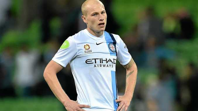 Aaron Mooy during his time with Melbourne City.