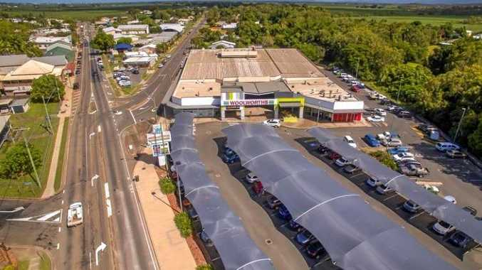 FOR SALE: Walkerston Shopping Centre is on the market via expressions of interest. The Duke of Edinburgh Hotel (far left) is also for sale.