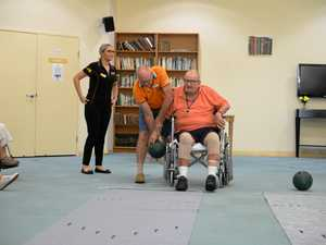 Retirement residents rock and bowl