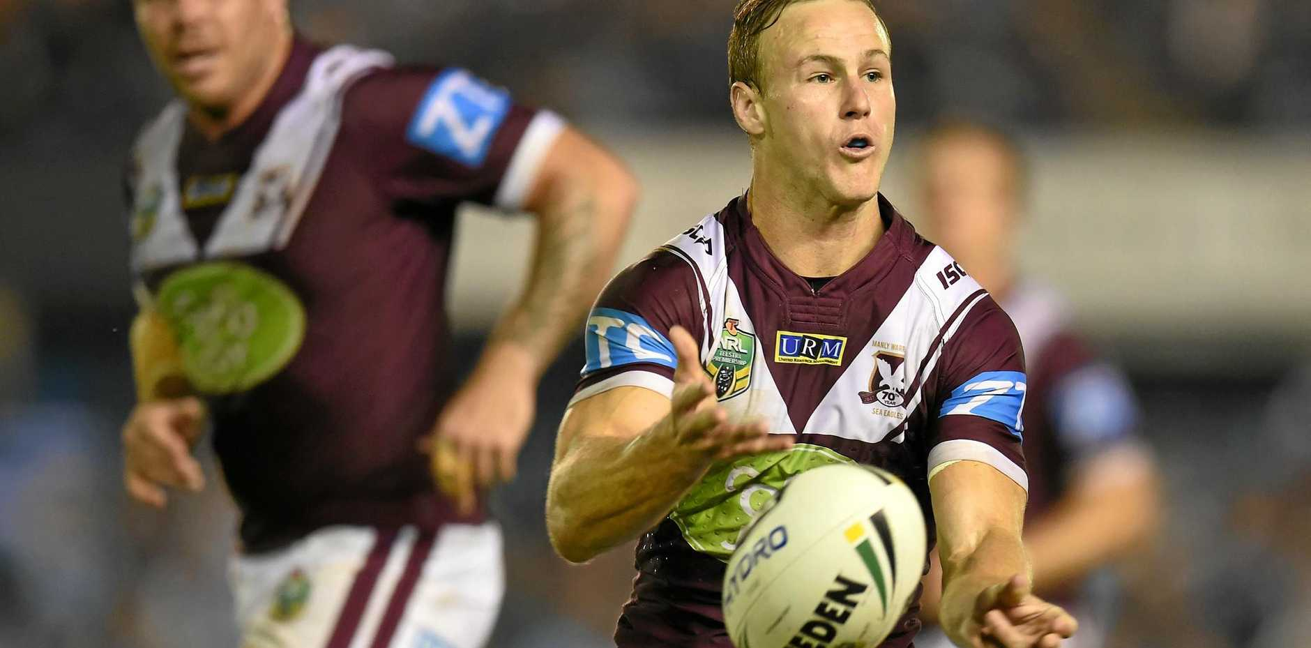 Daly Cherry-Evans of the Sea Eagles.