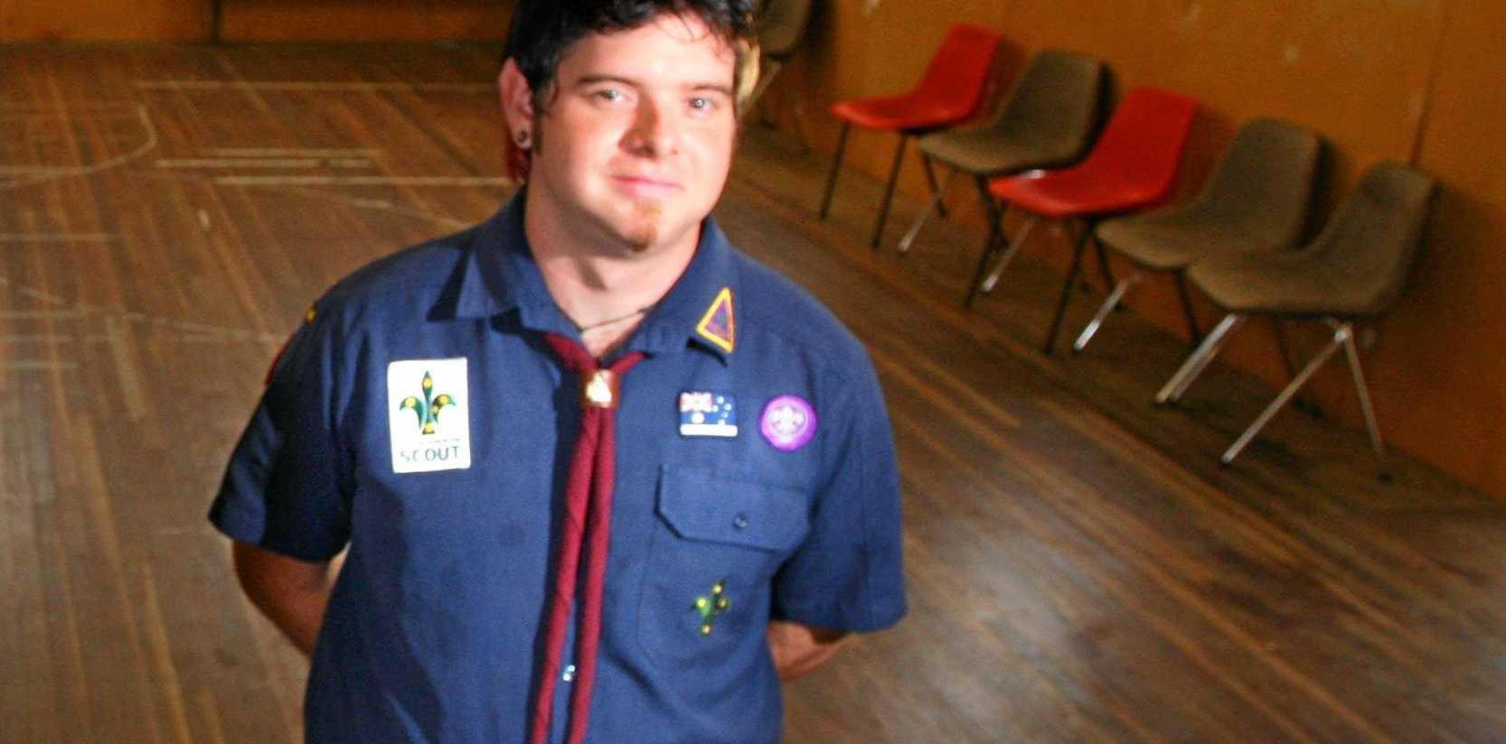 Leader Brock Dittman .