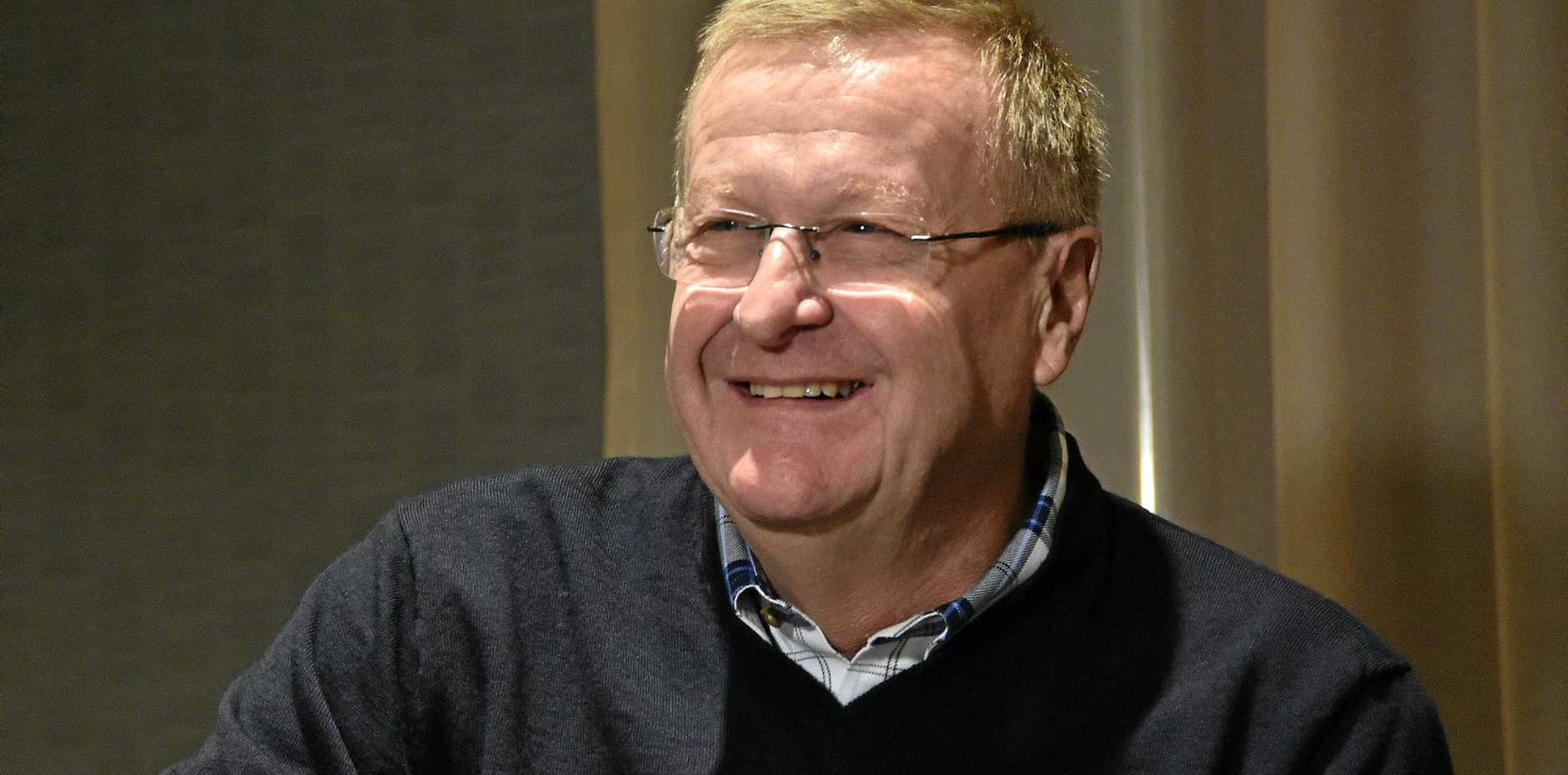 Australian Olympic Committee chief John Coates.