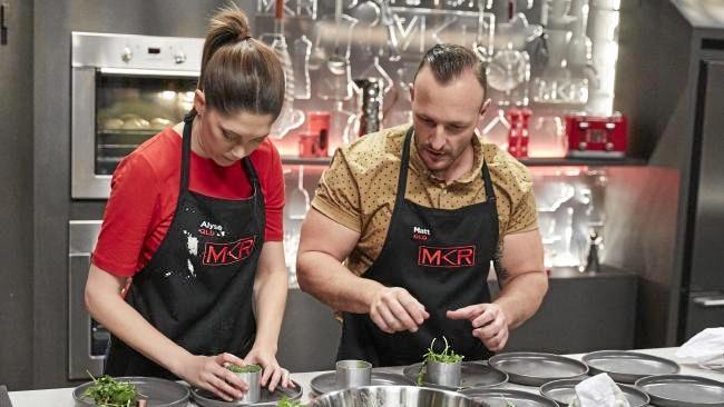 Elimination cook-off between Alyse & Matt and Josh & Amy.