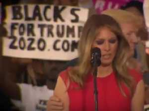 Claims Melania Trump 'shuddered' with Trump touch