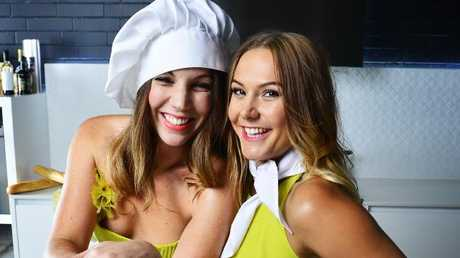 MKR contestants Chloe and Kelly.