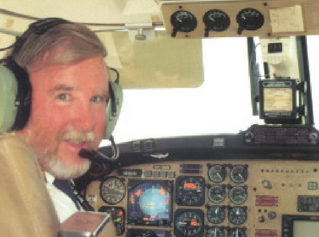 Pilot Max Quartermain had been flying the five-seater when it went down.Source:Supplied
