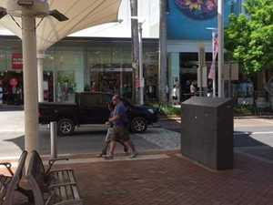 Coffs Harbour city centre confrontation