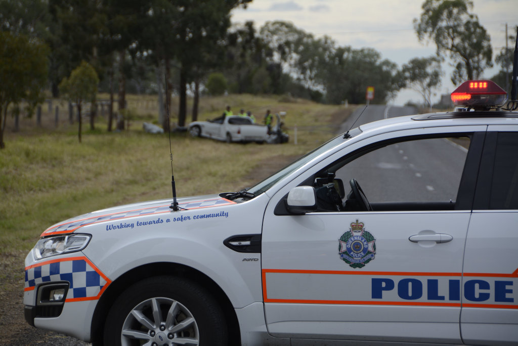 TRAGIC DEATH: A 35-year-old Newtown man has been killed in a single-vehicle crash just outside Toowoomba.