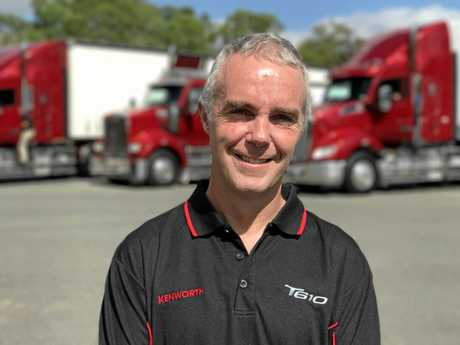 Paccar's Director of Sales and Marketing, Brad May, says there is no job this truck can't do.