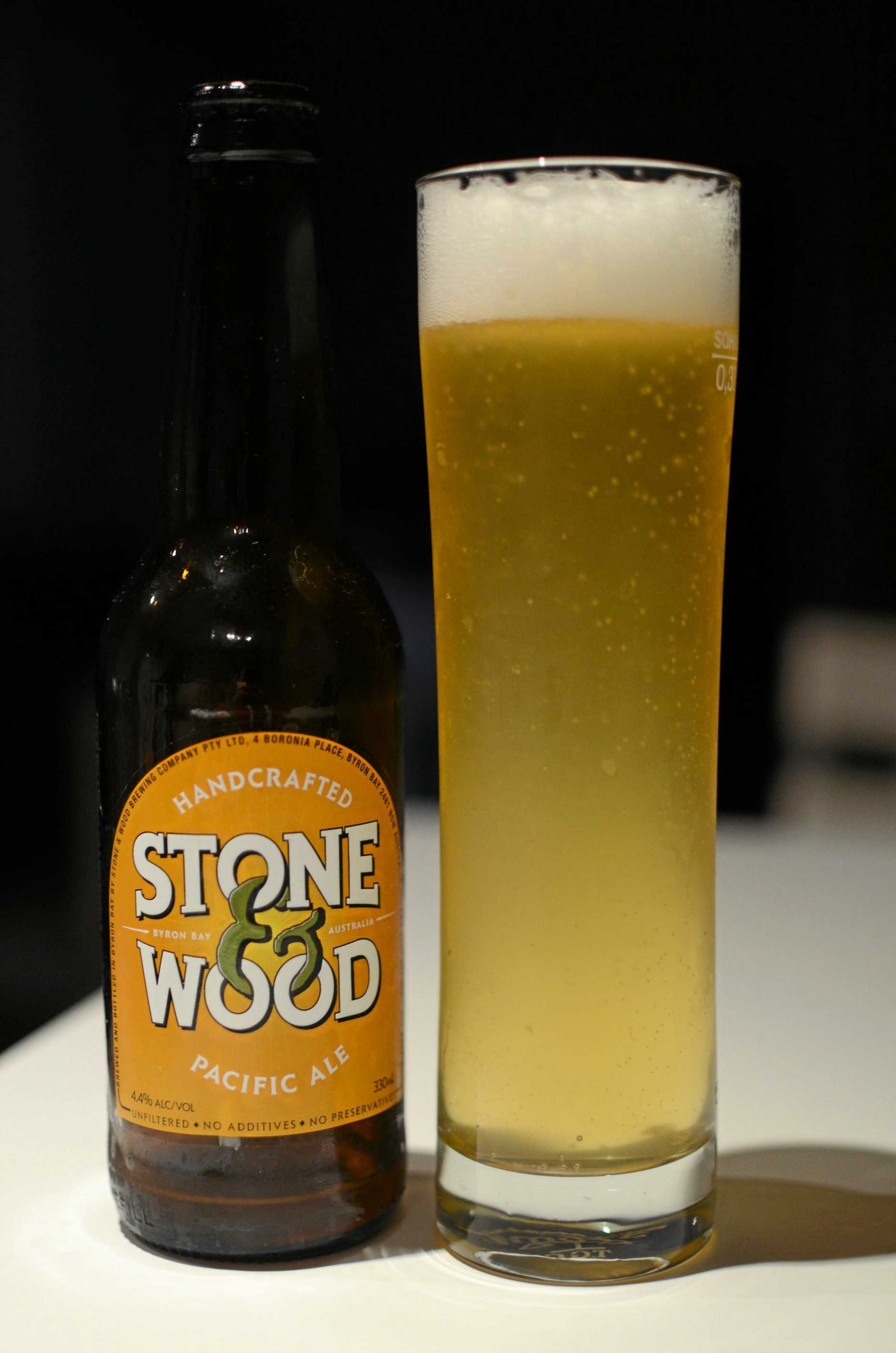 Stone and Wood Pacific Ale.