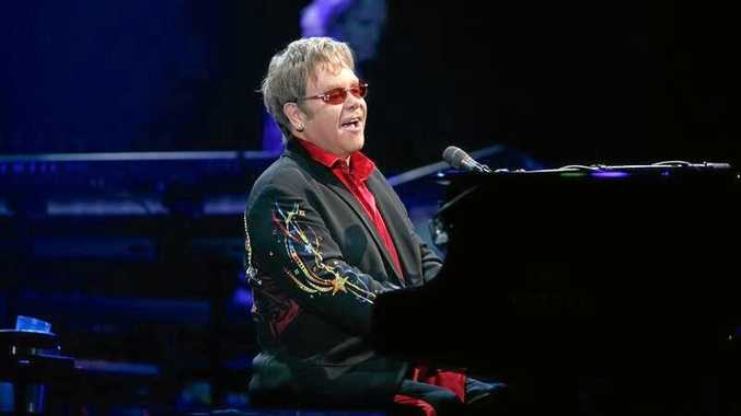 CROCODILE ROCKER: Sir Elton John will head to Mackay in September for the first stop of his Australian tour.