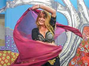 SHIMMY: Mel Miller who will be holding a free belly dancing class for teenagers.