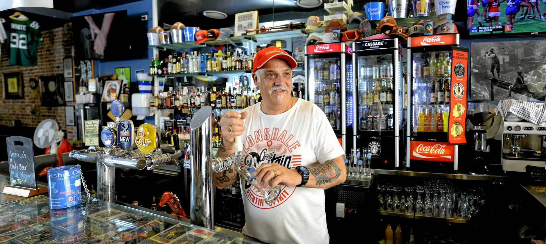 CONFIDENT: Dusty's owner Mark Dale is optimistic his business will receive a five-star food safety rating.