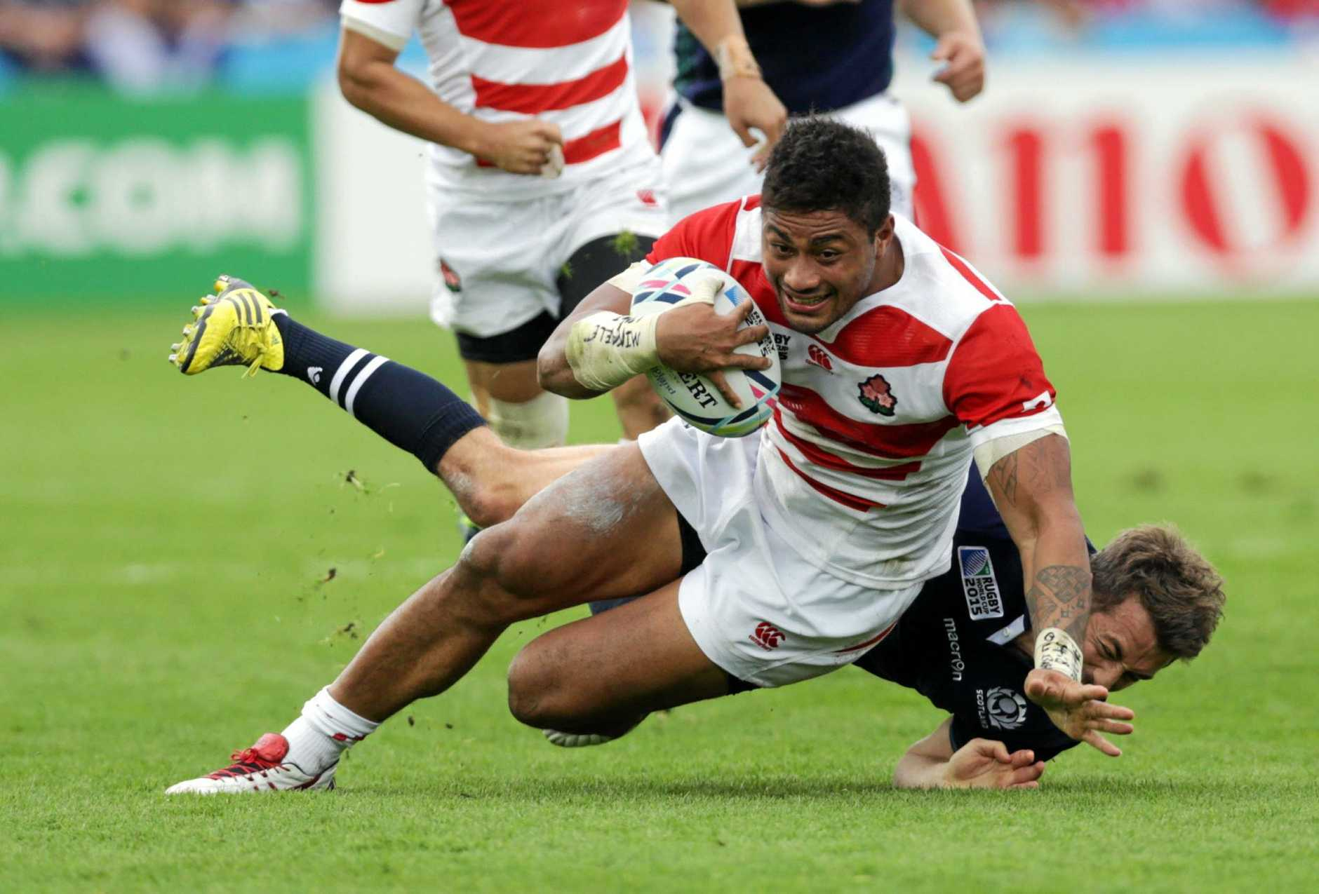 Japan's Amanaki Mafi will make his debut for the Rebels.
